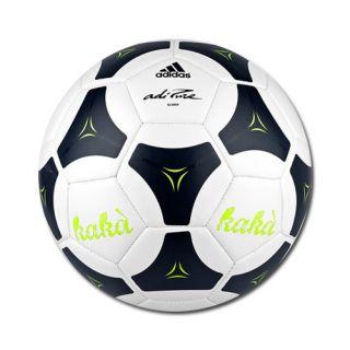 Adidas adiPURE Glider 2011 Kaka Soccer Ball White Sz 5