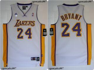 Adidas La Lakers Kobe Bryant Basketball Jersey NBA