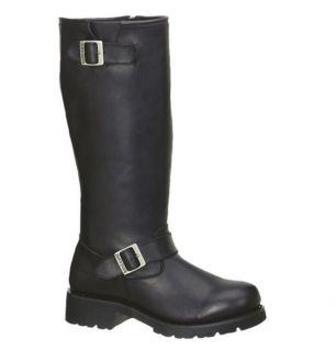 Mens AdTec Engineered Biker Boots 16 Motorcylce Heavy Duty Leather