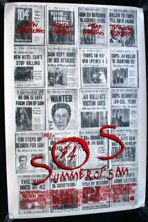 of Sam 1999 Original Movie Poster 1sh Spike Lee Adrien Brody Thriller