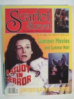 SCARLET STREET #19 ADRIENNE CORRI A STUDY IN TERROR VAL KILMER BATMAN