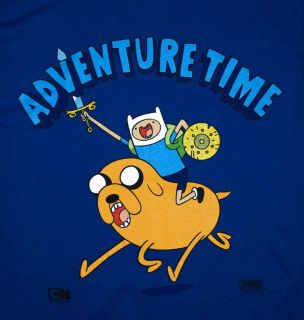 Adventure Time Finn And Jake Onward Charge Cartoon T Shirt Tee
