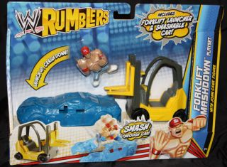 adventure with the officially licensed wwe rumblers playsets