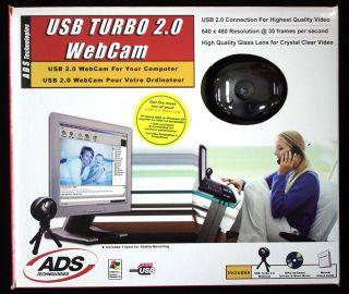 ADS USB Turbo 2.0 Webcam USB 2.0 Web Camera