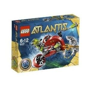 new lego atlantis 8057  insurance continental us only all