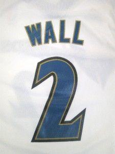 NBA Adidas Washington Wizards John Wall Youth Rookie White Revolution