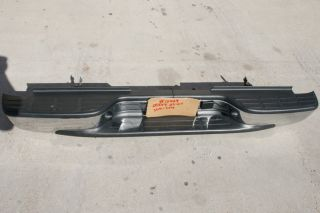 Takeoff Chrome Rear Bumper 2003 2007 Chevy Silverado GMC Sierra 2500