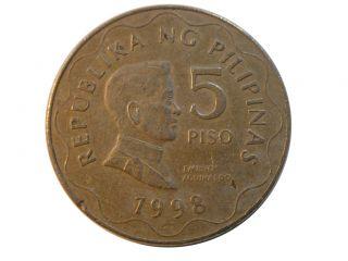 Republika Pilipinas Bangko Sentral 1993 Emilio Aguinaldo 32x3