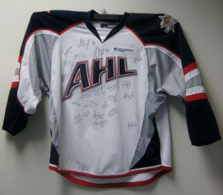 2010 AHL All Star Planetusa Team Signed Jersey