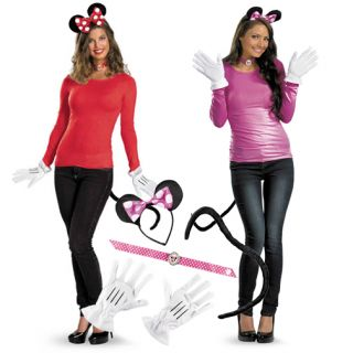Adult TV Show Mickey Disney Cartoon Character Minnie Mouse Costume