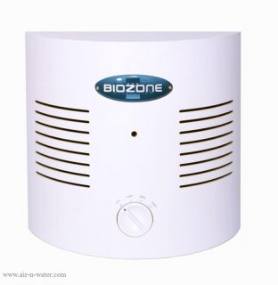 Air Cleaner Biozone Bi 500 Ionic Air Purifier Lightweight Compact New
