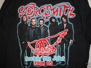 Aerosmith T Shirt Rockin The Joint Tour 2005 Rock