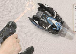 Takara Tomy Aero Spider Air Hogs RC Car Laser Blue R C