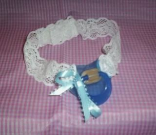 Adult Sissy Baby Strap on Time Out Pacifier Blue