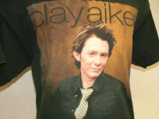 Clay Aiken Concert T Shirt 2004 Tour M