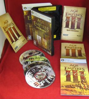 AGE OF EMPIRES III GOLD EDITION Age of Empires Age of Empires The War