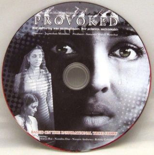 New Provoked Hindi DVD Aishwarya Rai Naveen Andrews