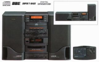 Aiwa LCX 01 Stereo System CD Player and Remote