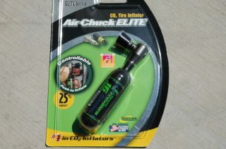 Genuine Innovations Air Chuck Elite CO2 Tire Inflator for Bike Bicycle