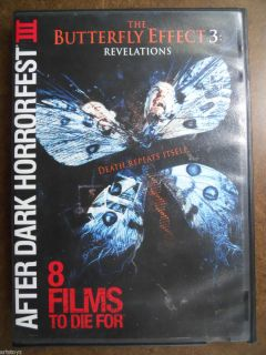 Effect 3 Revelations Movie DVD Used After Dark Horrorfest III