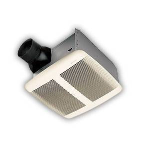 Quiet ceiling exhaust fan 590