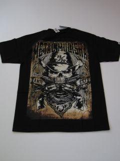 Agee Wes Outlaw Metal Mulisha Black Shirt Tee SS Short Sleeve Military