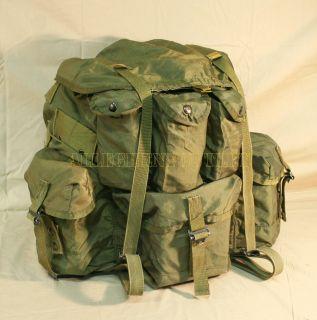USGI US Military Large Olive Drab Alice Field Pack Rucksack No Frame