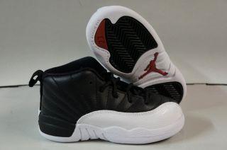 Nike Air Jordan 12 Retro Black Varsity Red White Toddler Infant