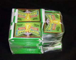 Lot of (100)   1994 Collect A Card Power Rangers  Trading Card