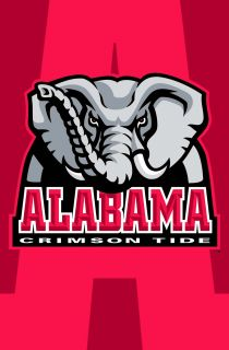 Alabama Crimson Tide NCAA Logo 22x34 POSTER