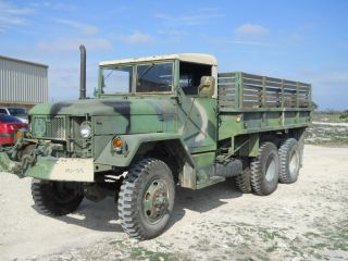 M35A2 Military Truck Nice Great Running Needs Paint Job