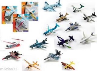 Matchbox Sky Busters Airplane Die Cast Aircrafts
