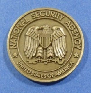 130 2 September 1958 National Security Agency Challenge Coin
