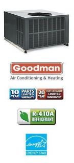 Goodman 140 000 BTU 80 Gas Package Air Conditioner GPG156014041