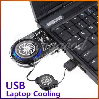 Vacuum USB Case Idea Air Cooler Cooling Fan for Notebook Laptop