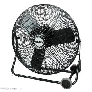 Speed 24 Industrial Floor Fan Commercial Shop Cooling