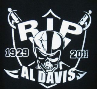 Al Davis Oakland Raiders Memorial Tribute Vinyl Decal Sticker Raider