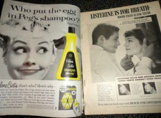 Photoplay 9/1960 Grace Kelly Debbie Reynolds Doris Day Bob Conrad