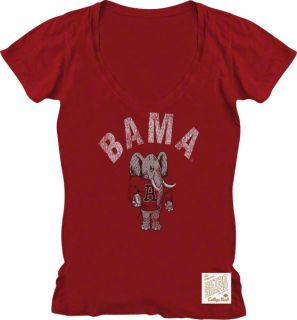Show off your old school spirit with this Alabama Crimson Tide Vintage