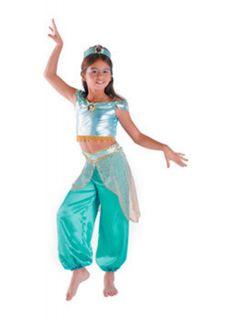 Aladdin Jasmine Disney Princess Child Costume SML 4 6