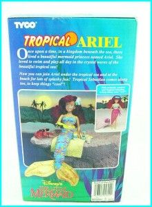 other Little Mermaid dolls, plus rare Mattel Jasmine/Aladdin dolls