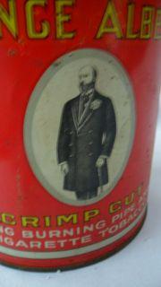 Albert Cigarette Tobacco Tin Crimp Cut R J Reynolds Can LG