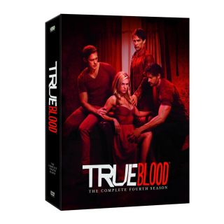 True Blood The Complete Fourth Season 4 DVD 2012 5 Disc Set New SEALED
