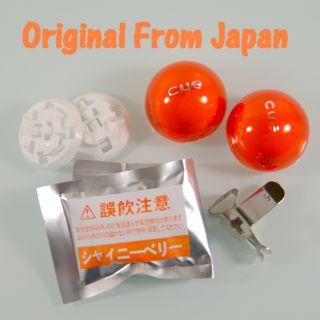 Cue Blue Car Air Freshener Ball on Vent Japan Easyuse