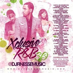DJ Finesse Akon Brandy Usher Xclusive R B 30 5 R B Rap Mixtape Mix
