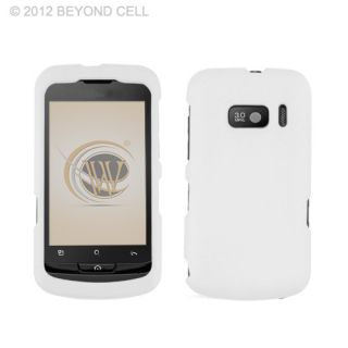 For Alcatel One Touch 918 918D Phone White Accessory Hard Case Cover
