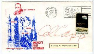 Al Capp Lil Abner Cartoonist 1971 Original Signed Americas First