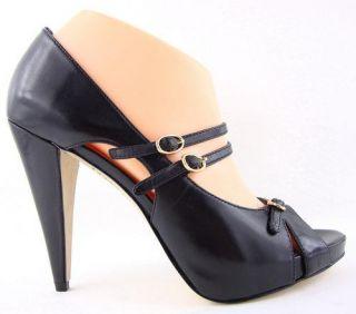 135 Boutique 9 Alanna Black Womens Shoes Pump 10 M