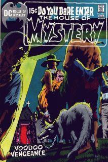 Tony Dezuniga House of Mystery 188 Production Art PG 1