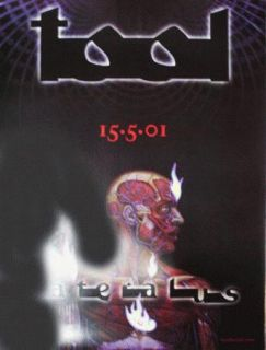 Tool Alex Grey Lateralus CD Promotional Poster 2001